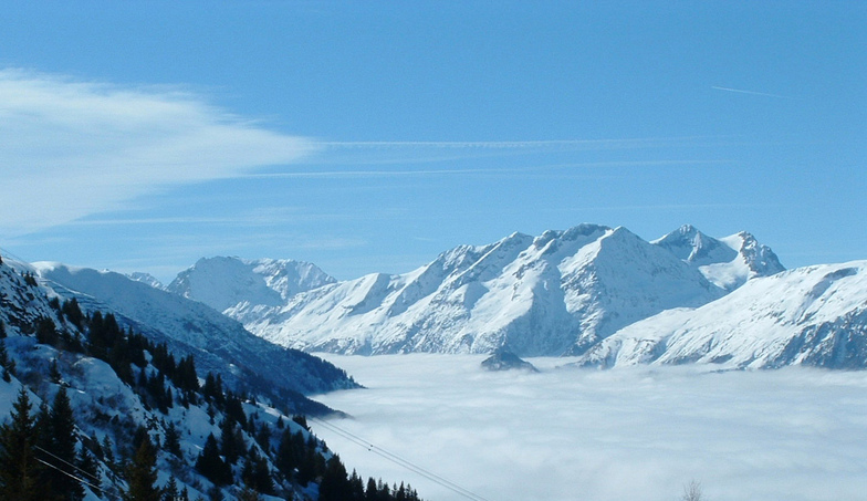High above the clouds, Alpe d'Huez