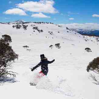 Perisher Snowboarding