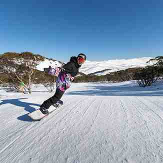 Cruising in Perisher