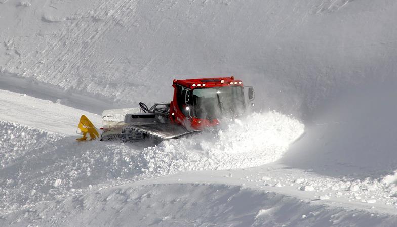 Fresh Snow at Mount Hutt, Mt Hutt