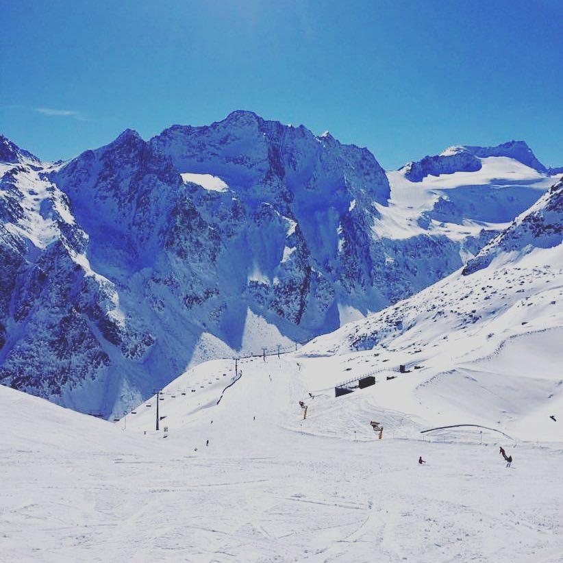30cm of new snow at Solden, Sölden