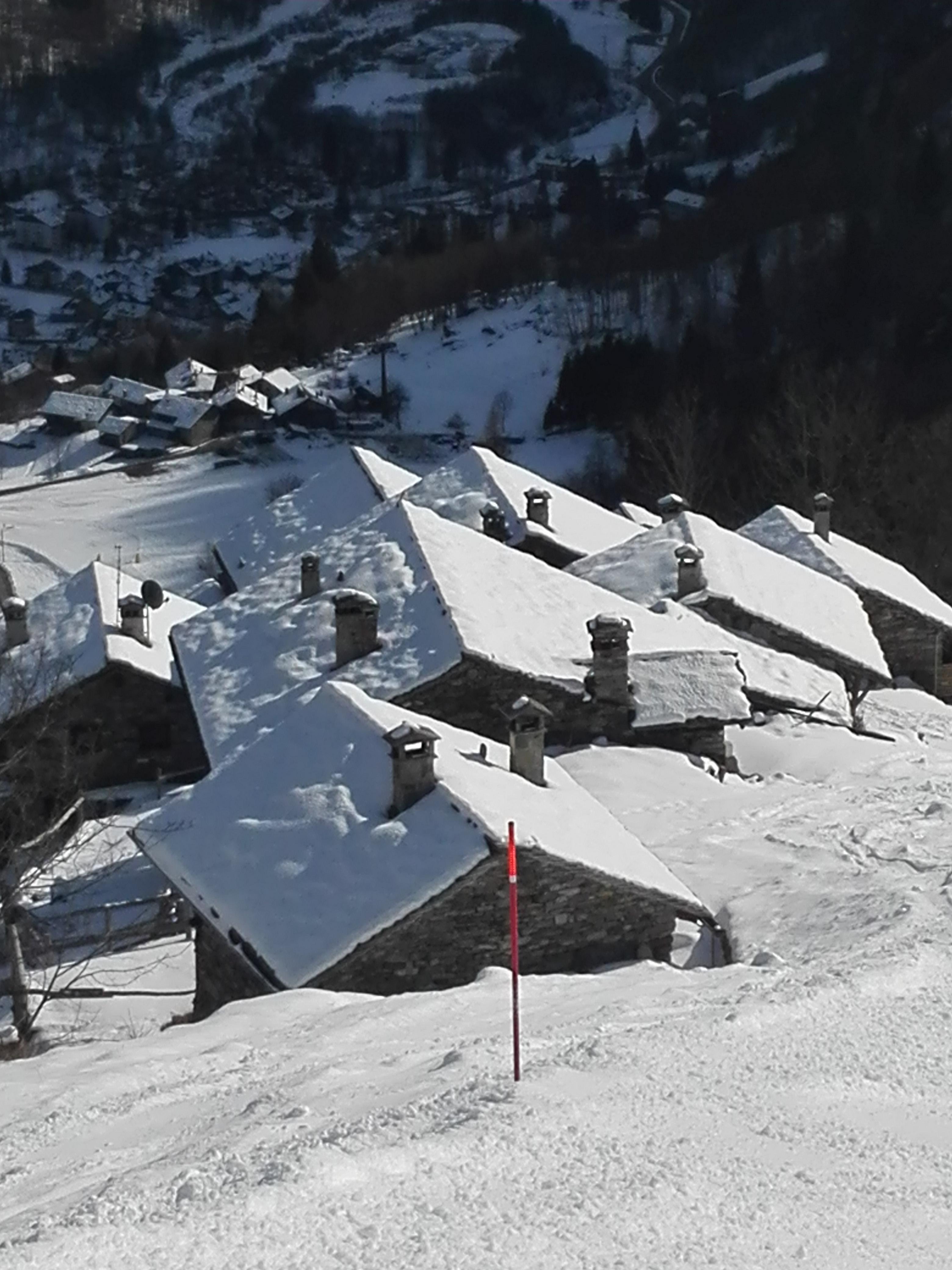 le prime case di Alagna