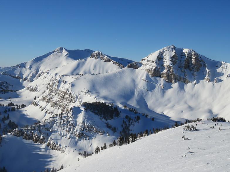 Cody Peak from Rendez-vous Bowl, Jackson Hole