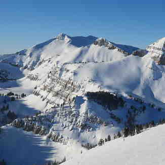 Cody Peak from Rendez-vous Bowl, Jackson Hole