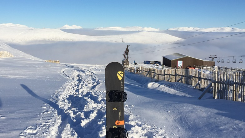 Foggy Rannoch Moor from Glencoe, Glencoe Mountain Resort