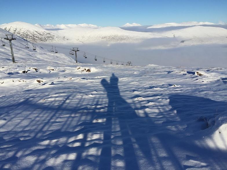 Early season view, Glencoe Scotland, Glencoe Mountain Resort
