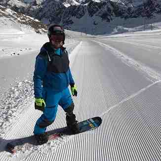 Early snow sees Kaunertal open