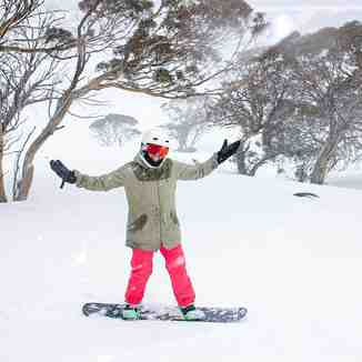 Still snowing in Perisher