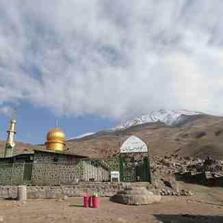 damavand masjed sahabzaman, Mount Damavand