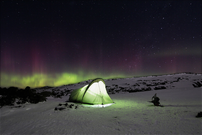 Southern Lights, Mt Mawson