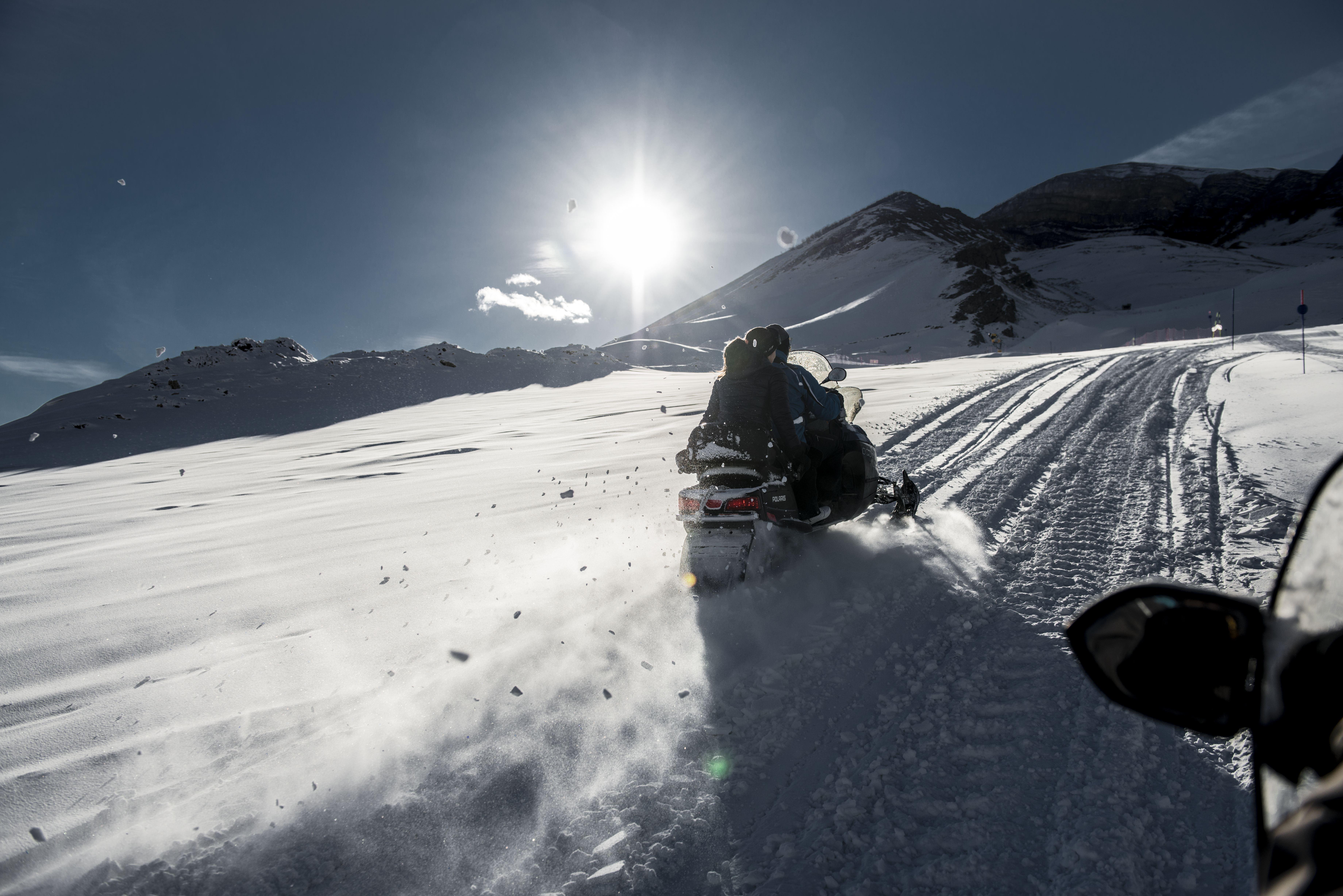 Shahdag Snowmobile, Shahdag Mountain Resort