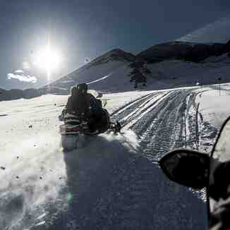 Shahdag Snowmobile, Shahdag Mountain Resort