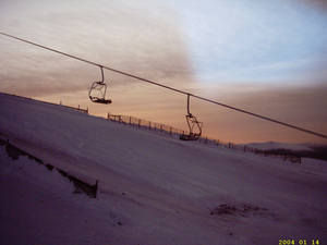 Sunset Chairs, Nevis Range photo