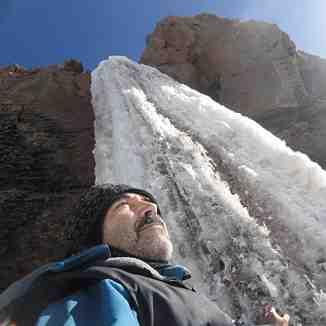 damavand  icefall iran, Mount Damavand
