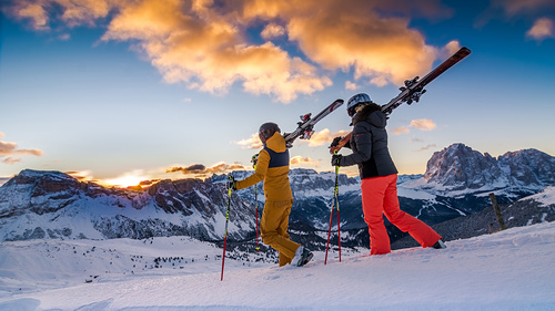 Val Gardena Ski Resort by: Patrick Stuflesser