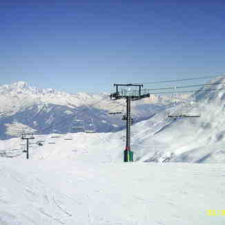 """Mont Blanc from """"Le Grand Domaine"""", Valmorel"""