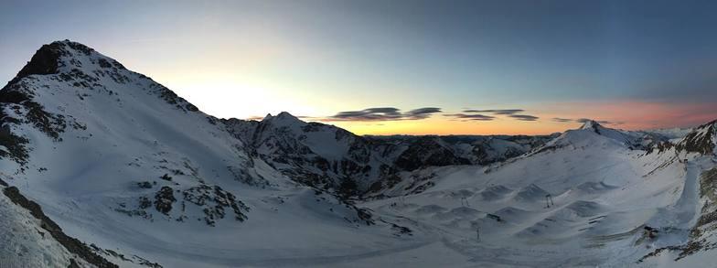 New snow at Stubai, Stubai Glacier