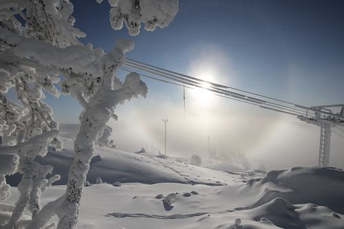 Ruka Ski Resort by: Snow Forecast Admin