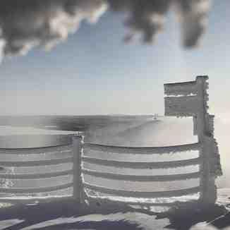 Frost rime in Ruka
