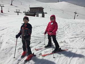 Skiig in Zaarour photo