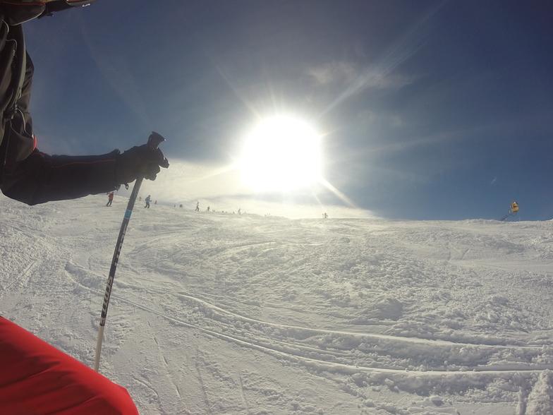 Powder in the sun, St. Anton