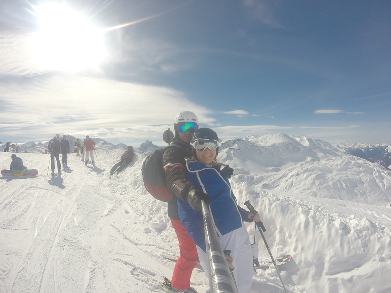 Me and the lady, St. Anton