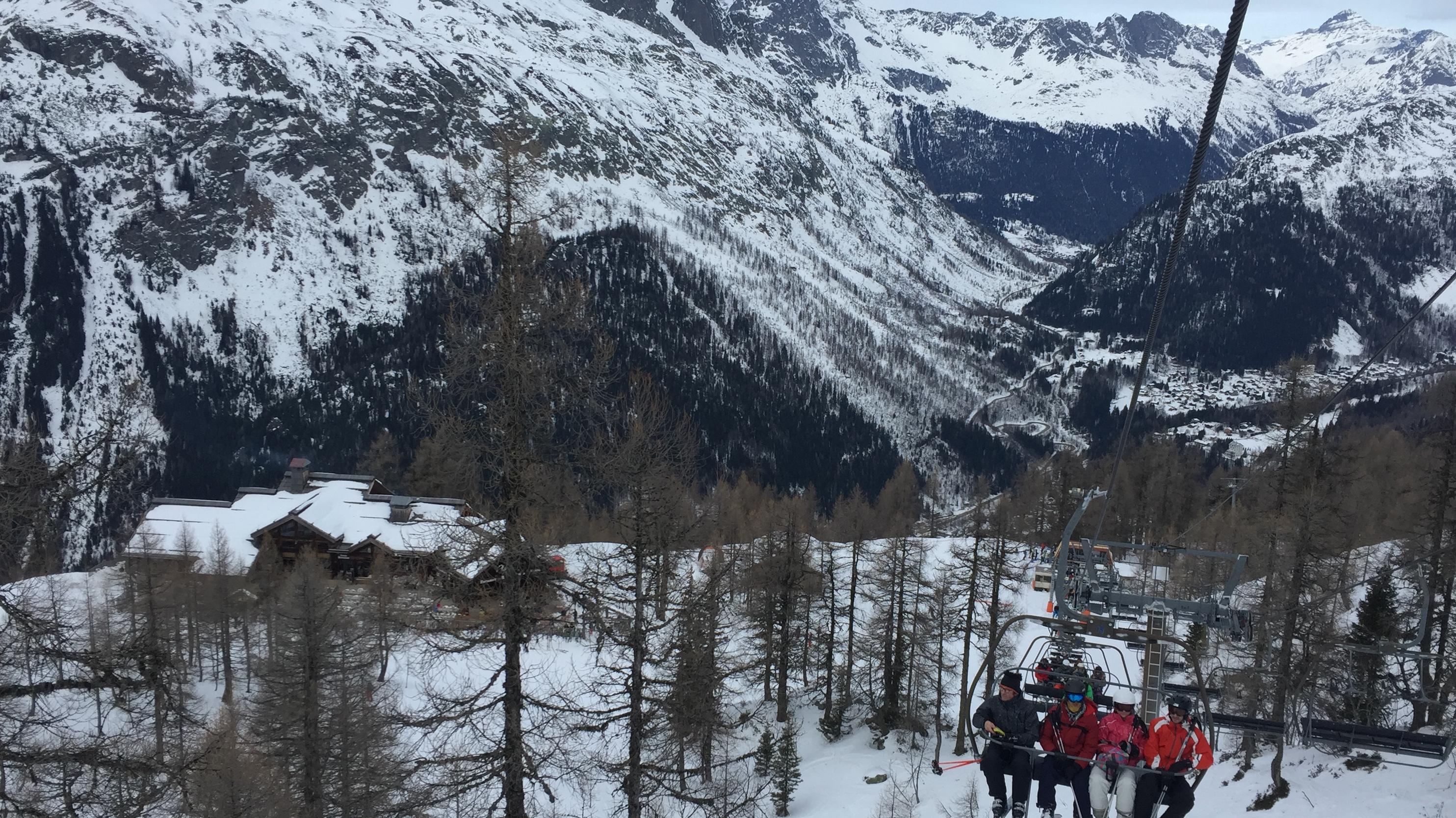 not so good on the snow, Chamonix