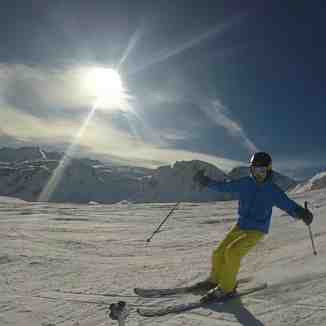 Hey camera, Tignes