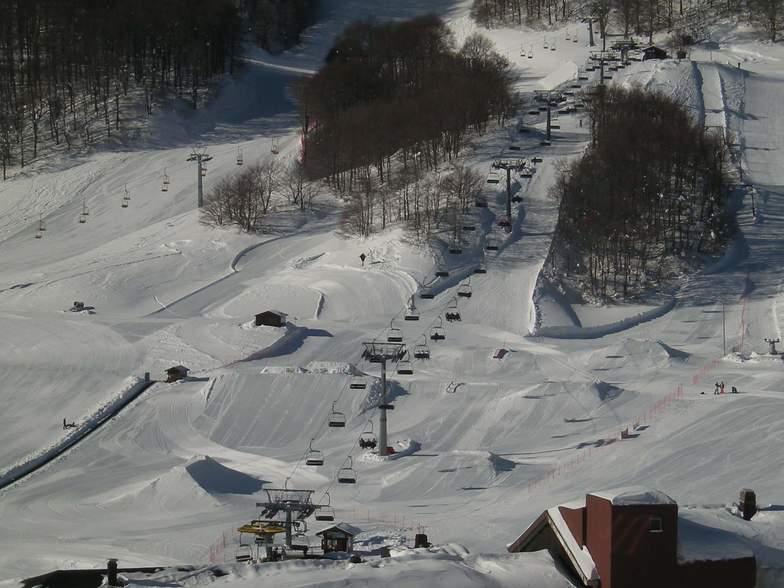 Campitello Matese snow