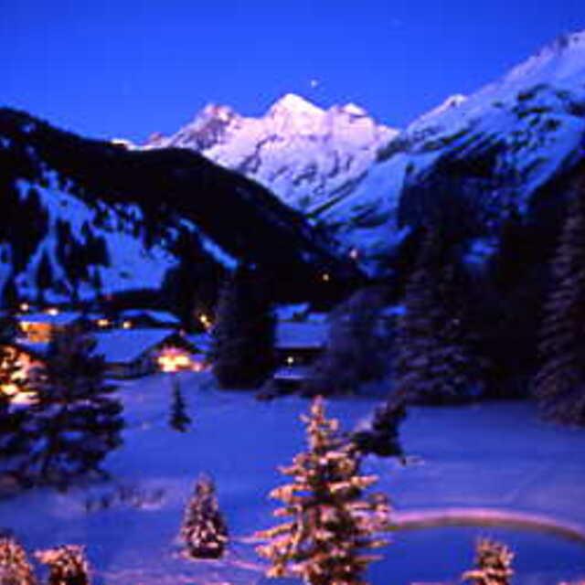 Early evening views in Kandersteg