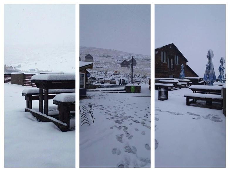 November Snow at Afri-Ski, Afriski Mountain Resort