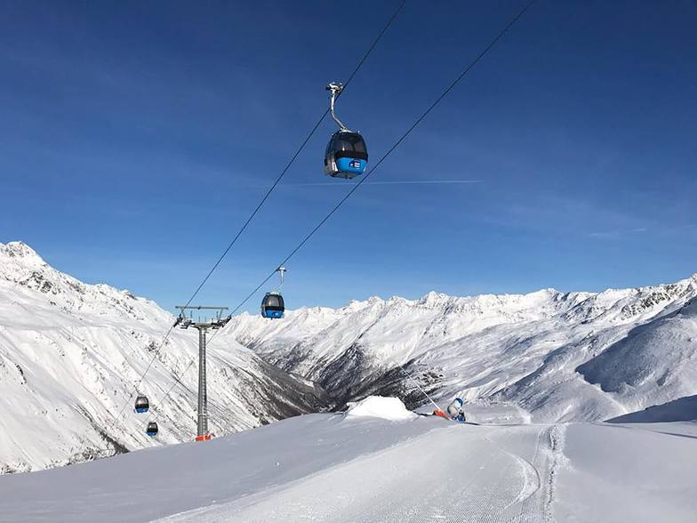 Great start to the new season in Obergurgl
