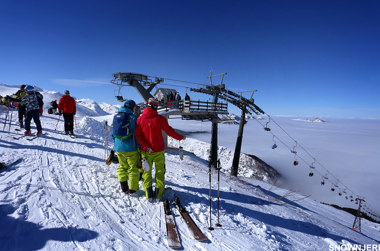 Lift top, Brezovica