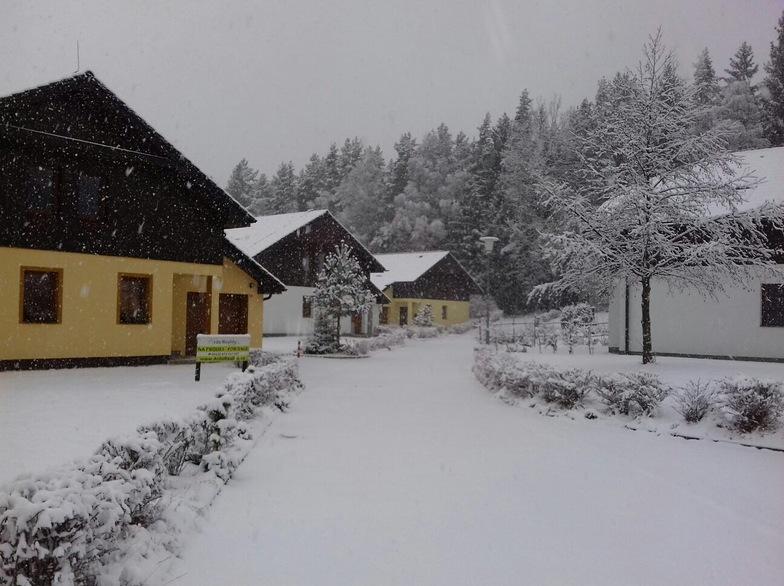 Lipno - Kramolín snow