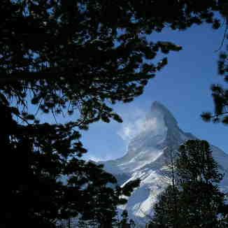 Matterhorn framed, Zermatt