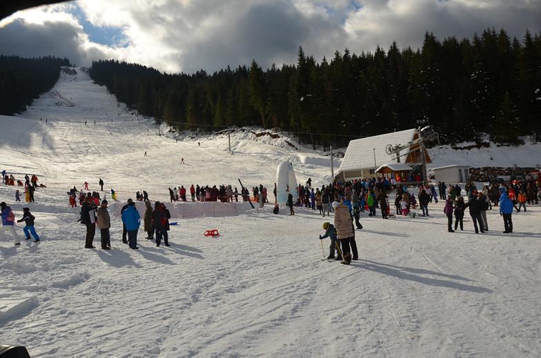 Ravna Planina snow