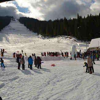 Daily skiing, Ravna Planina