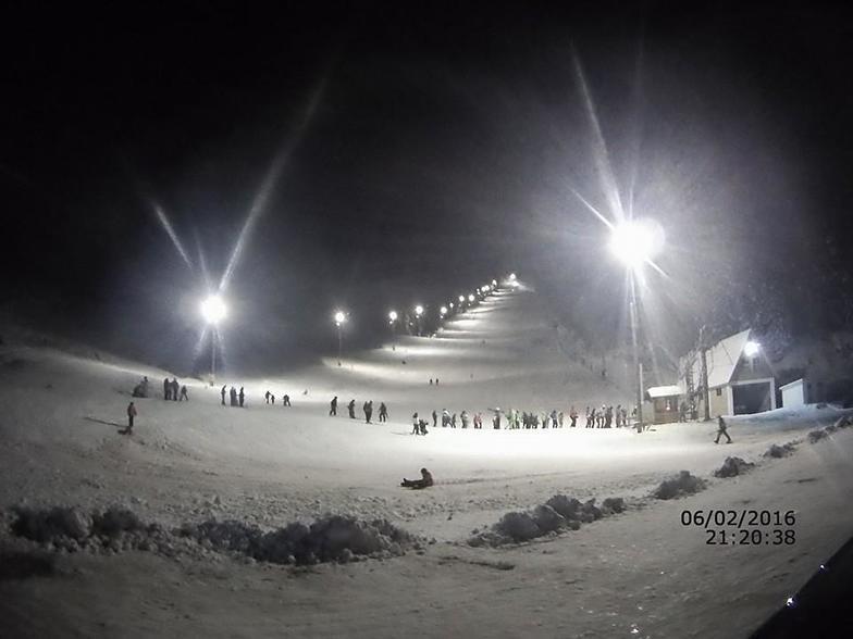 Night skiing 2, Ravna Planina
