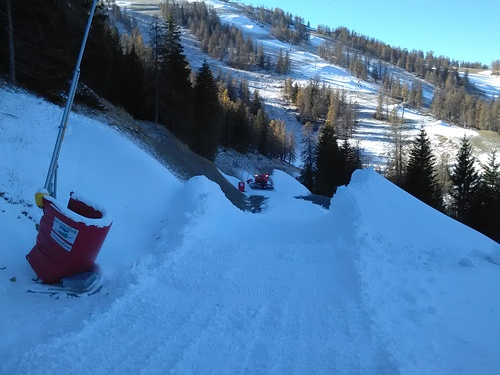 La Colmiane Ski Resort by: gilles magnani