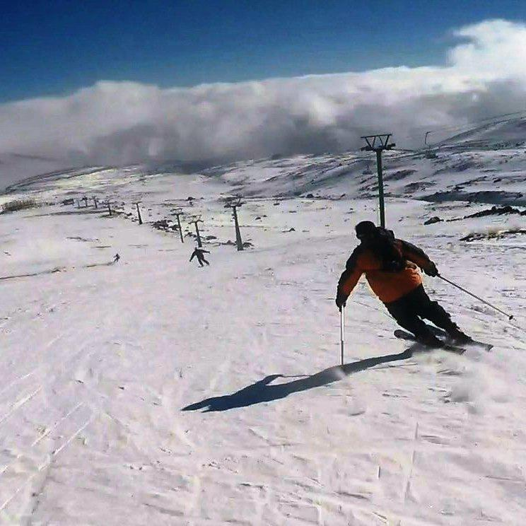 Alvares Winter Sports Complex snow