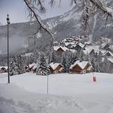 So much snow so early this year., Oz en Oisans