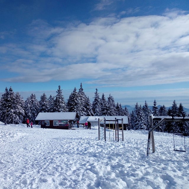 Rogla, Slovenia, before Christmas 2017
