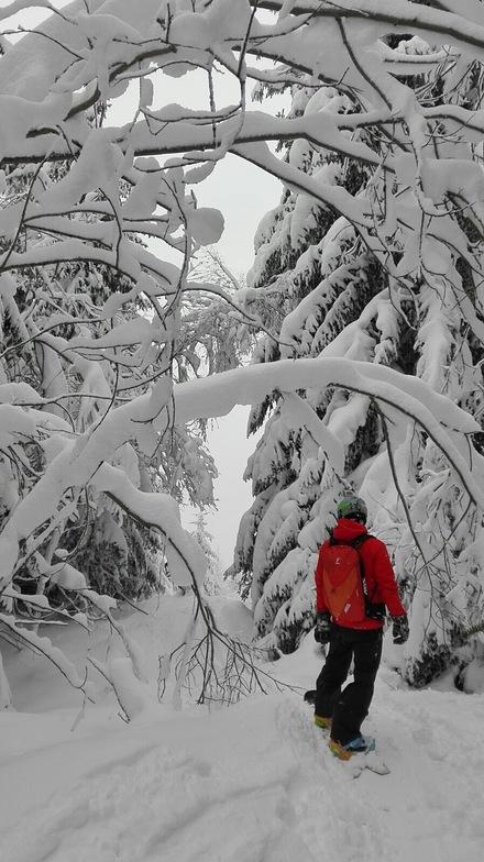 Wonder white land ......, Valfrejus
