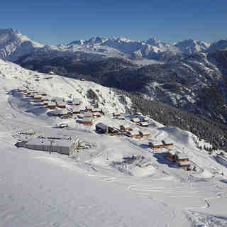 Belalp - Blatten - Naters Snow: Lovely view