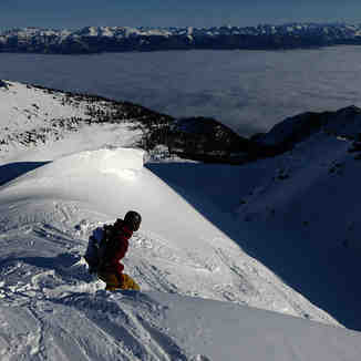 Dropping into Toilet Bowl, Kicking Horse