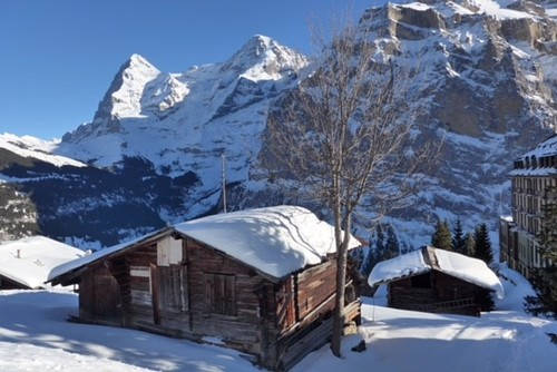 Mürren Ski Resort by: John McGregor