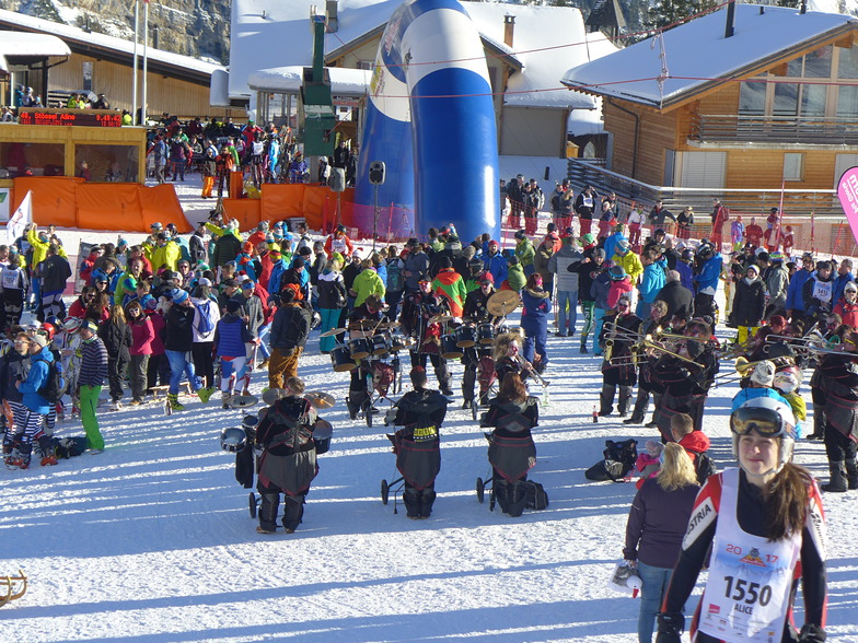 The inferno 2017 finishing line, Mürren