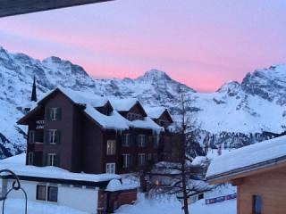 murren in the pink, Mürren
