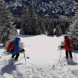 Ski with a view, Villars
