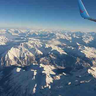 Plane over to Turin, Nordkette